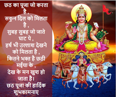 chhath puja wishes in hindi font