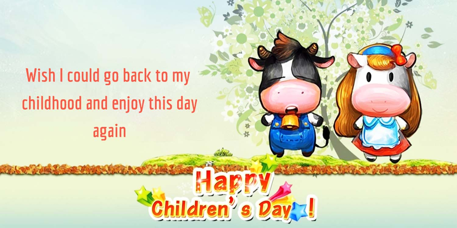 children's day funny status