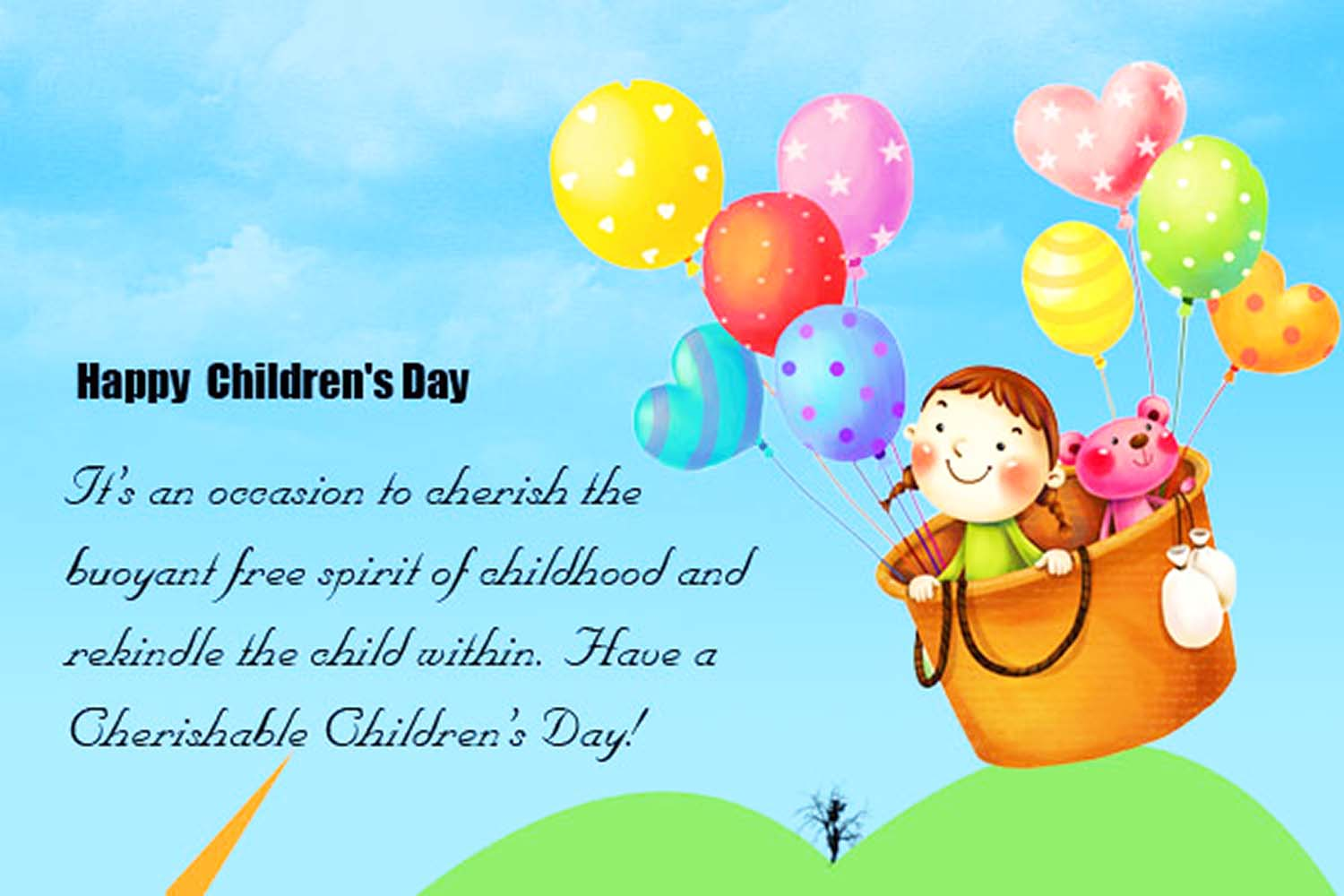 children's day greetings messages