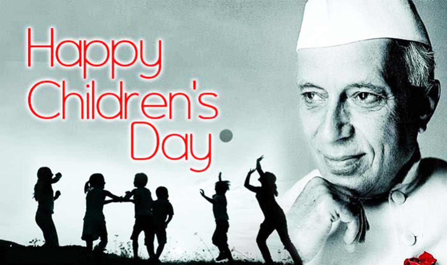 children's day images in india