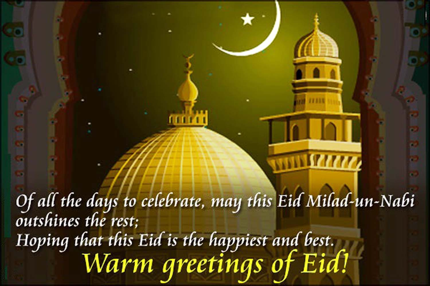 eid milad greetings in english