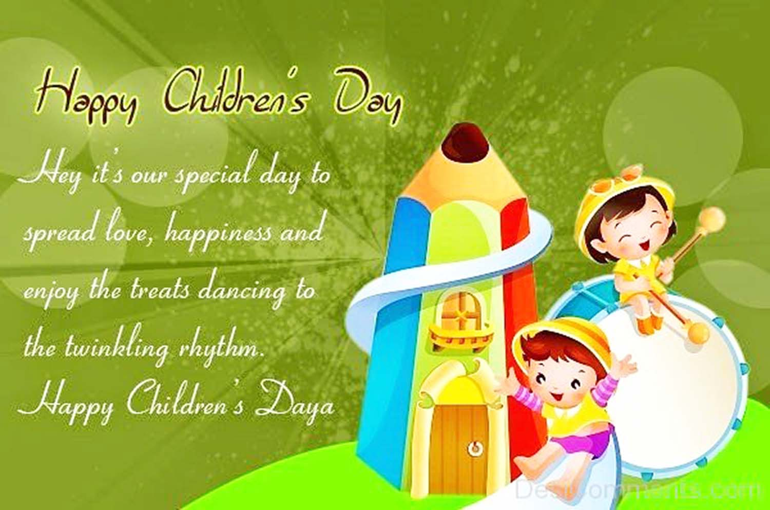 happy children's day rhymes