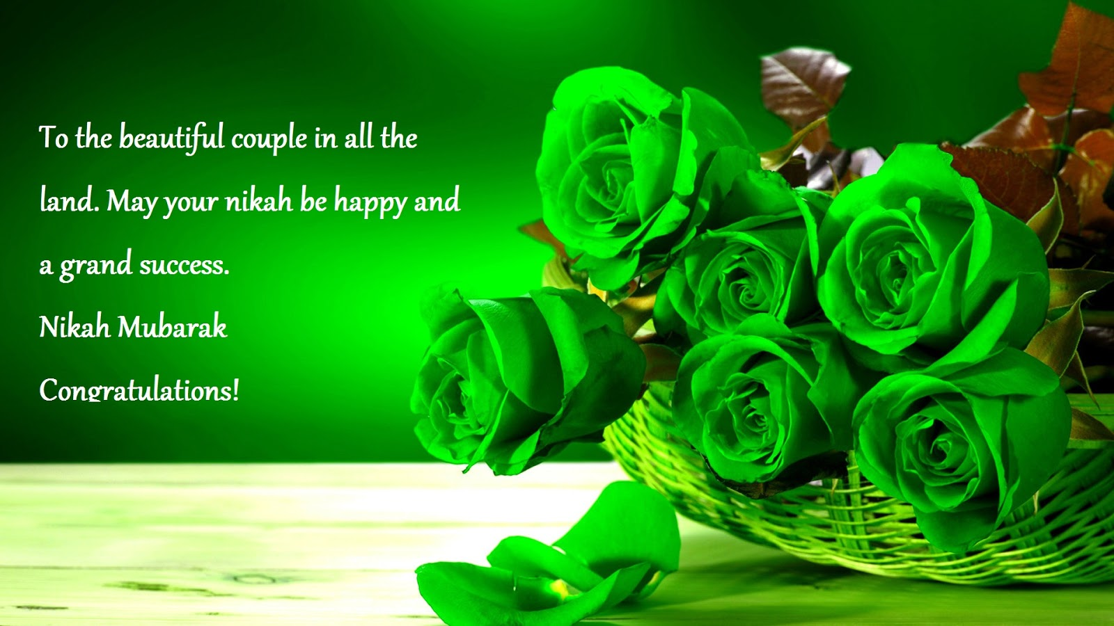 islamic wishes for newly married couple