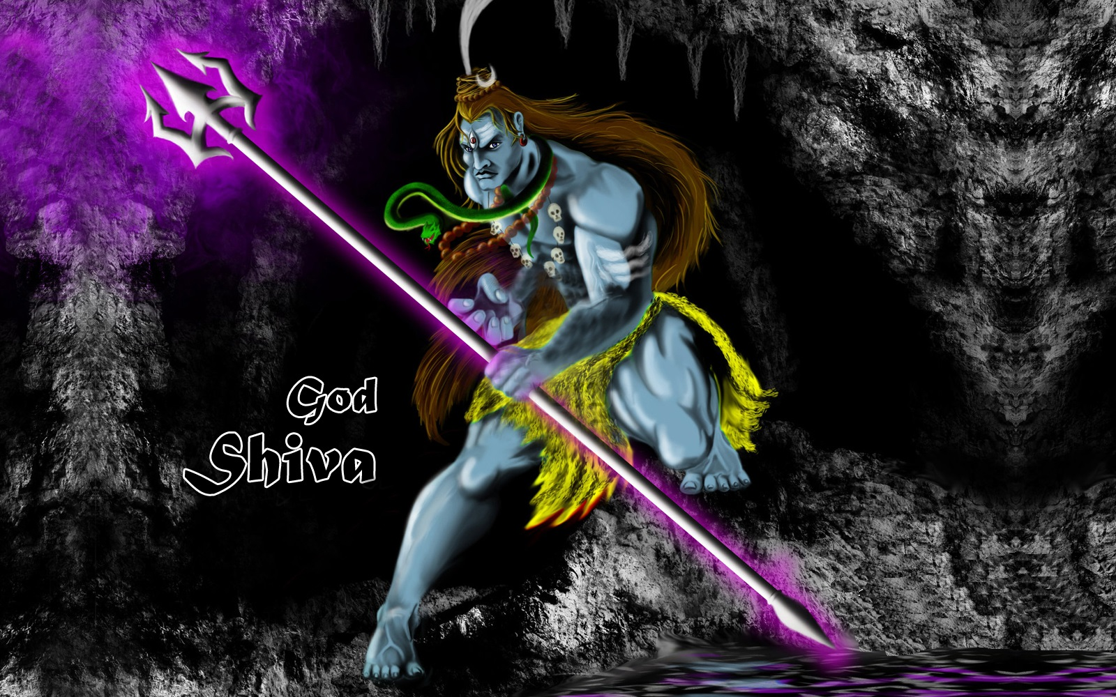 lord shiva angry
