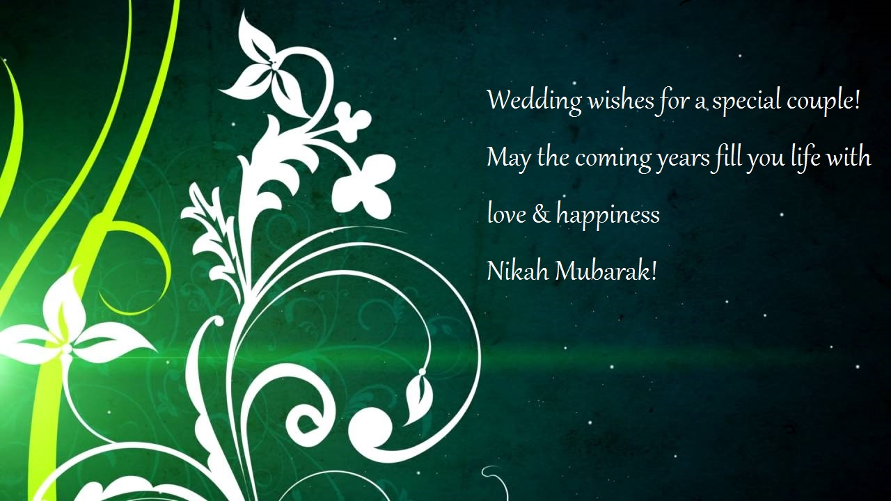 nikah wishes for friend
