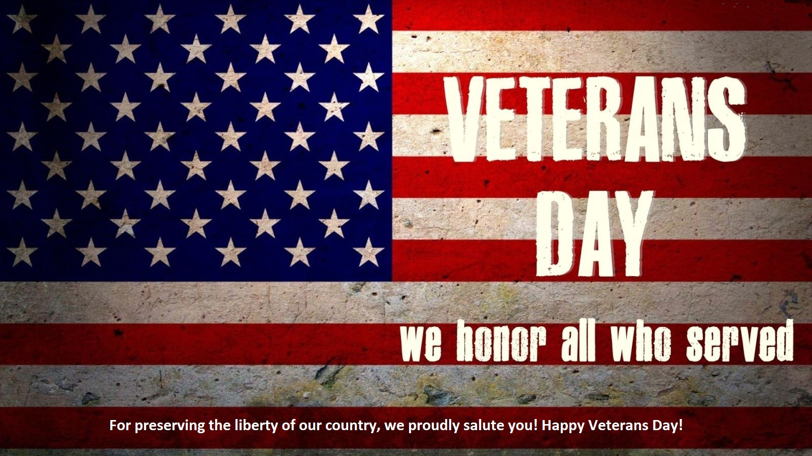 thank you message to veterans