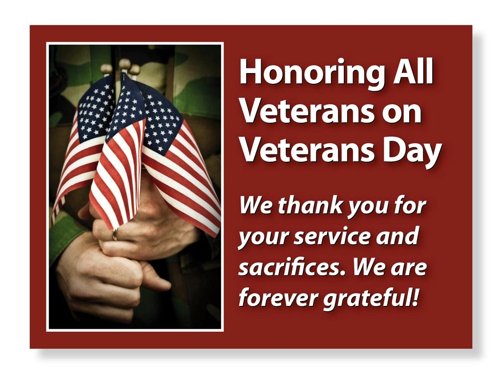 veterans day sayings thank you
