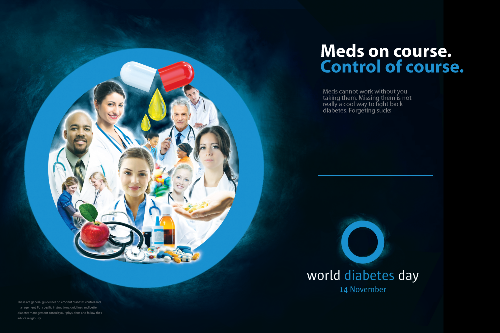 world diabetes day posters