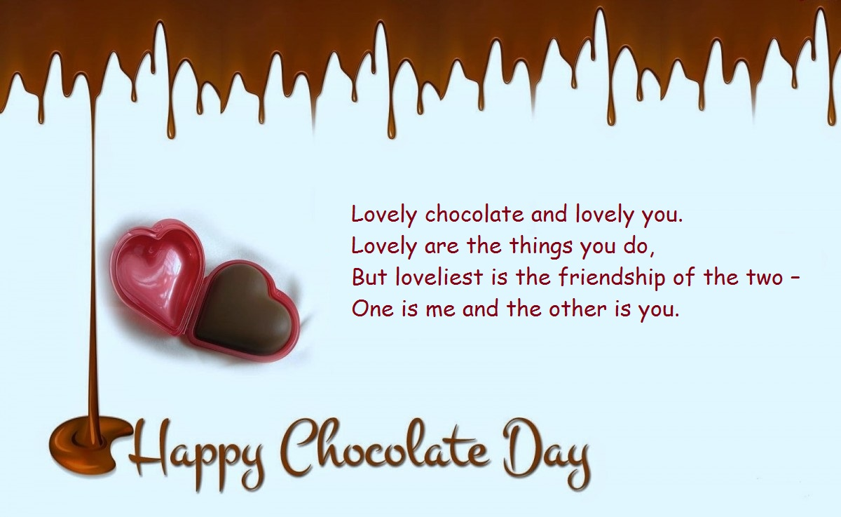 chocolate day message