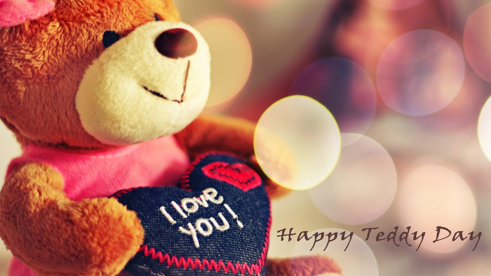 happy teddy day pic