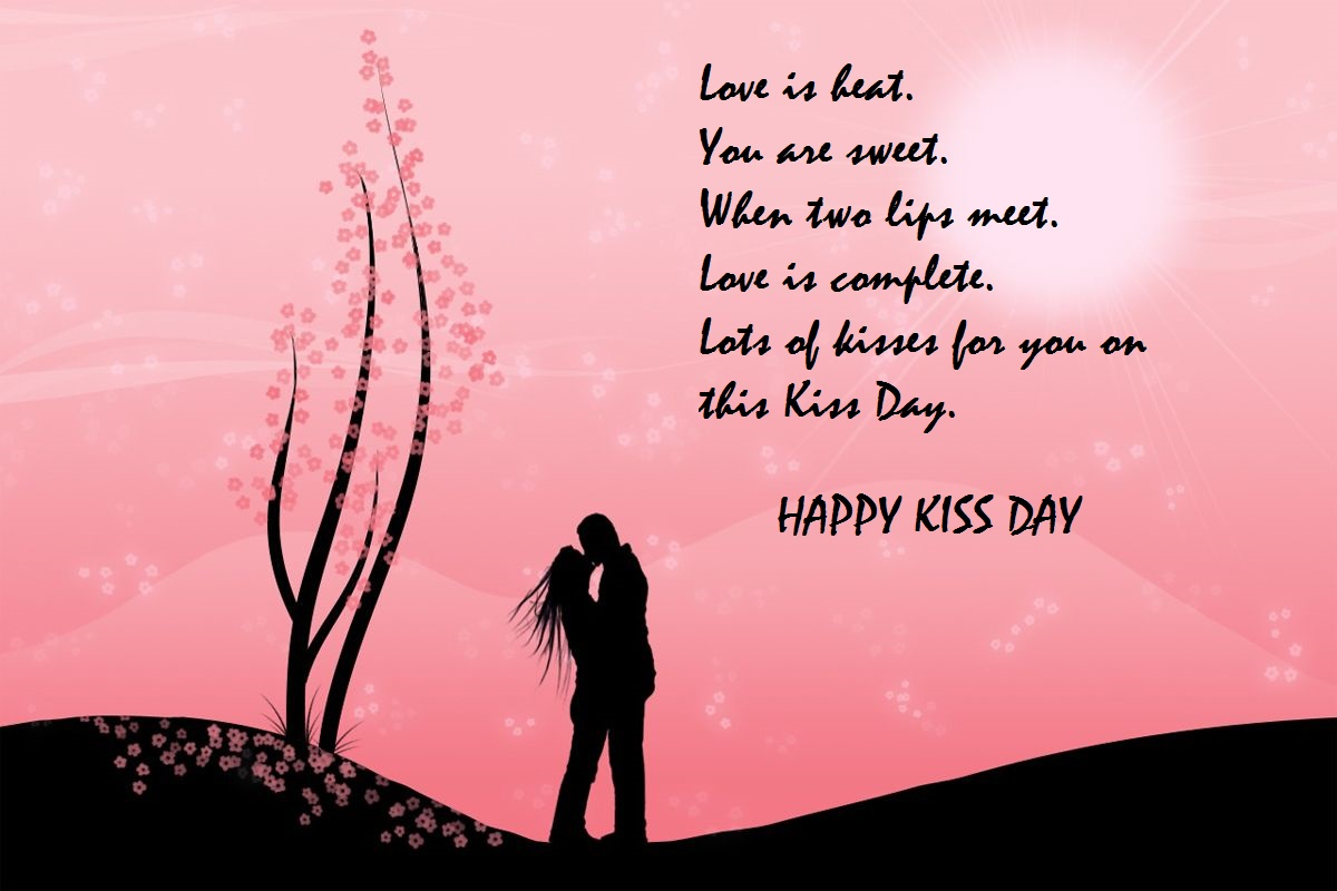 kiss day message