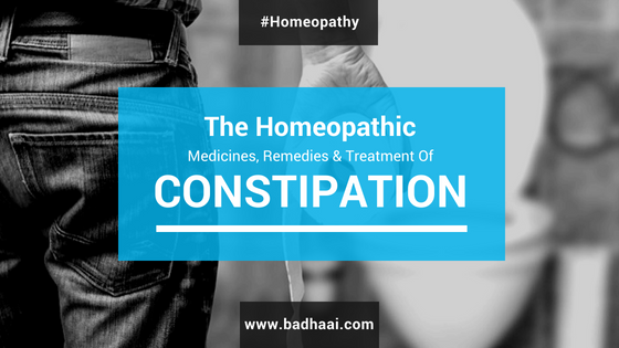 Homeopathic Medicine, Remedy And Treatment For Constipation
