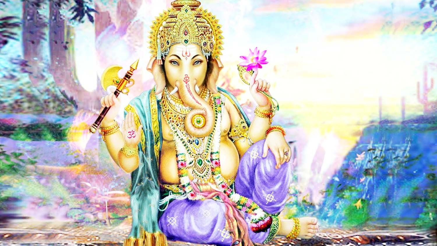 Beautiful Ganpati Image in hd!