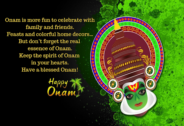 onam quotes in english