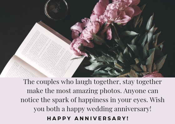 Marriage anniversary wishes for couple
