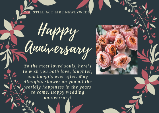 Anniversary wishes for couple