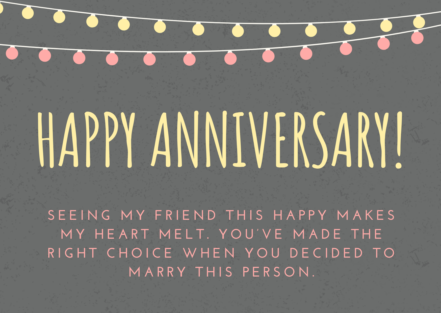 happy anniversary wishes for friends