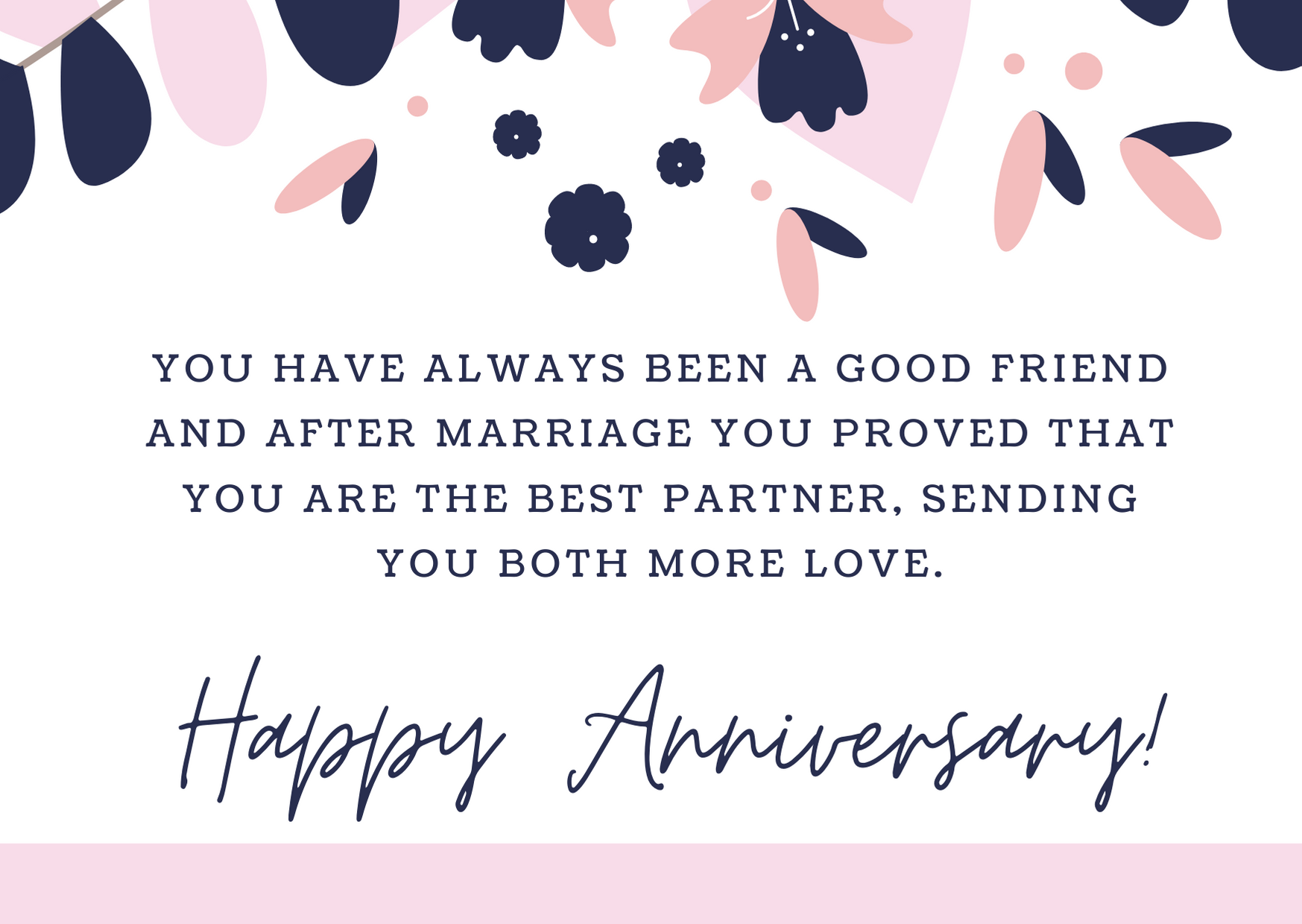 anniversary messages for friends