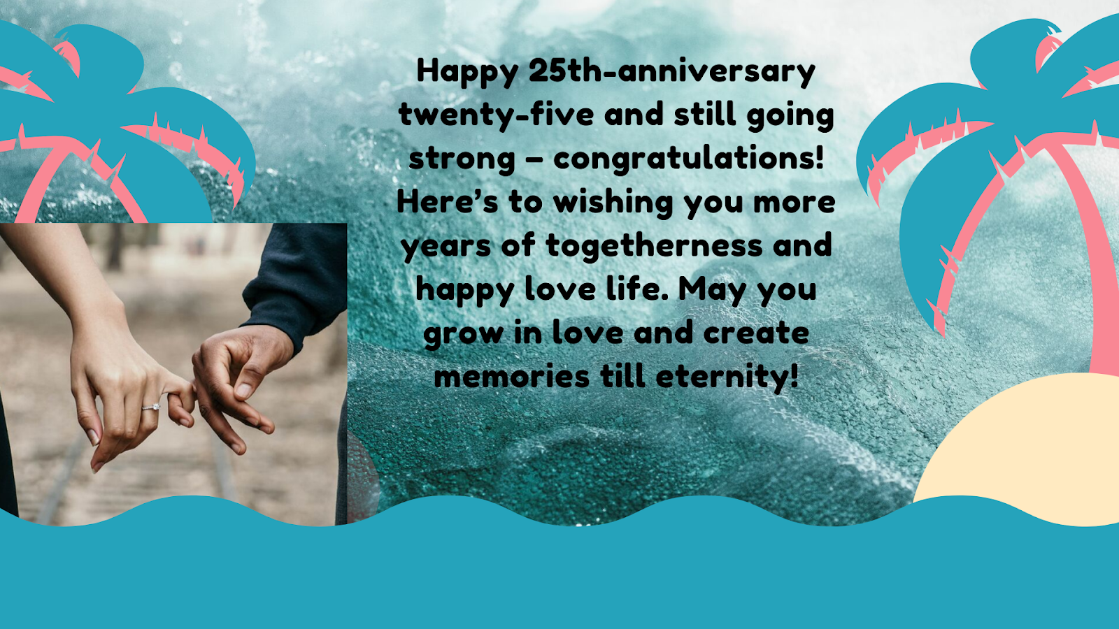 25th Wedding Anniversary Wishes - Messages and Quotes ...