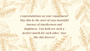 Engagement Congratulations Messages