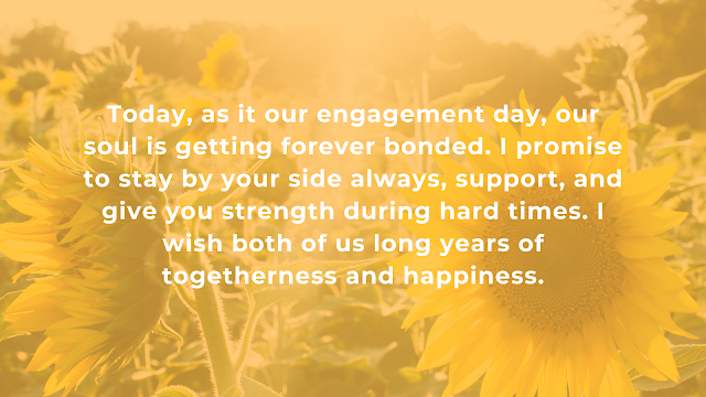 Engagement Wishes to husband