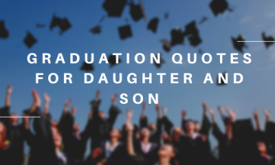 Graduation Quotes for Daughter and Son