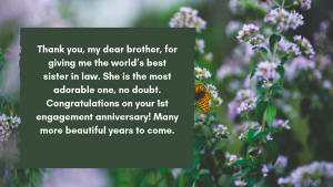 brother engagement quotes