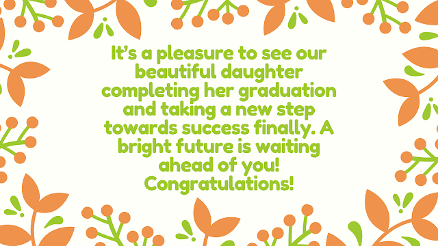 graduation message from mother to daughter