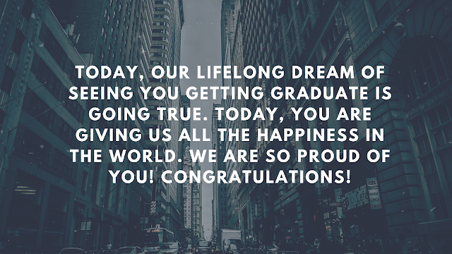 happy graduation message