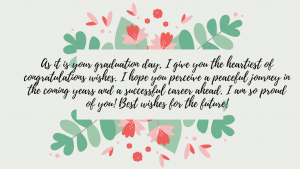 wishes on graduation day