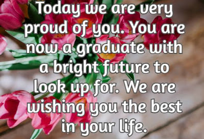 Graduation Wishes From Parents