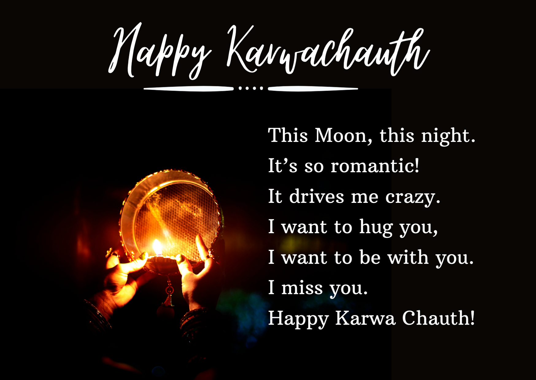happy karva chauth wishes for husband