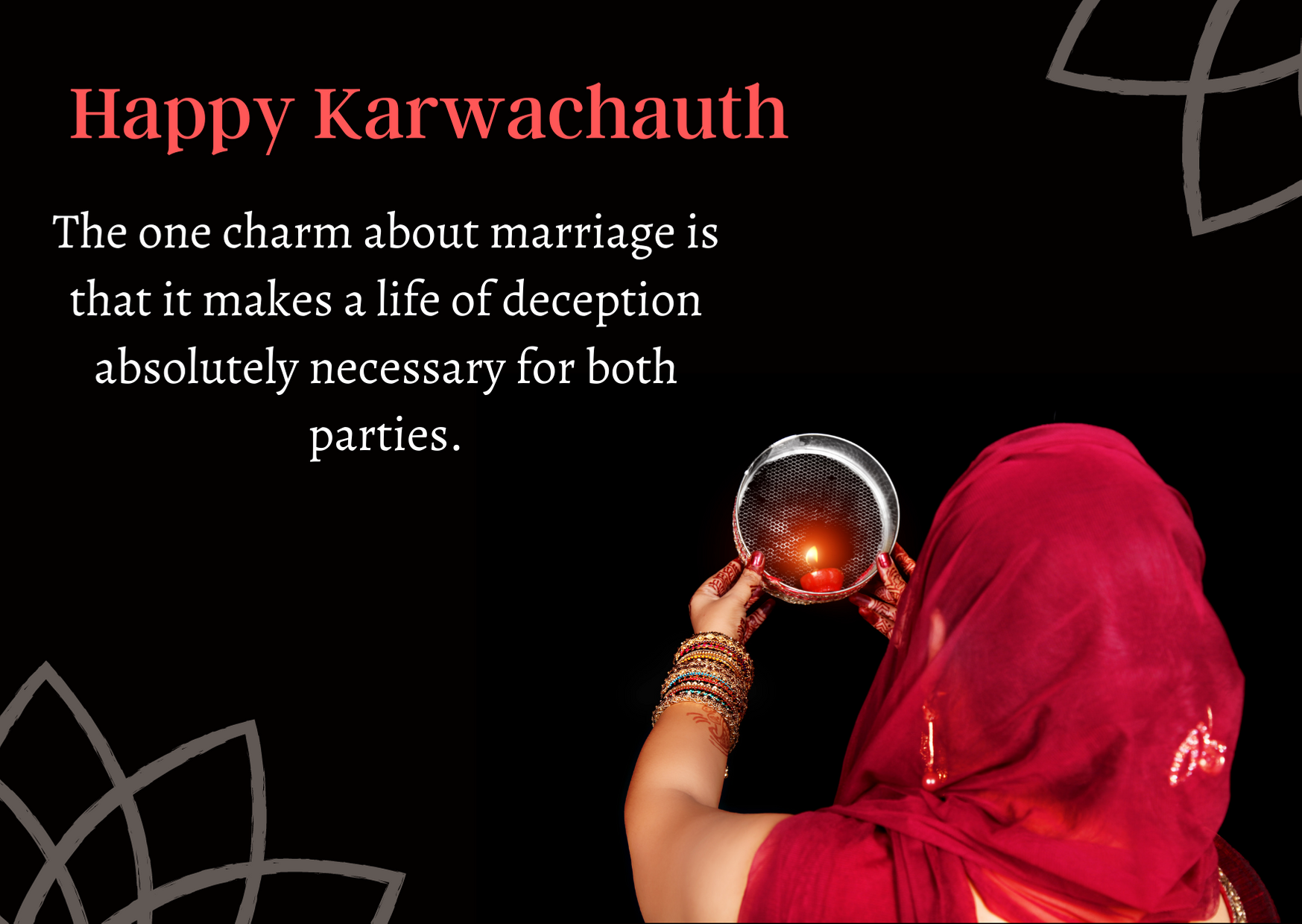 karva chauth special message