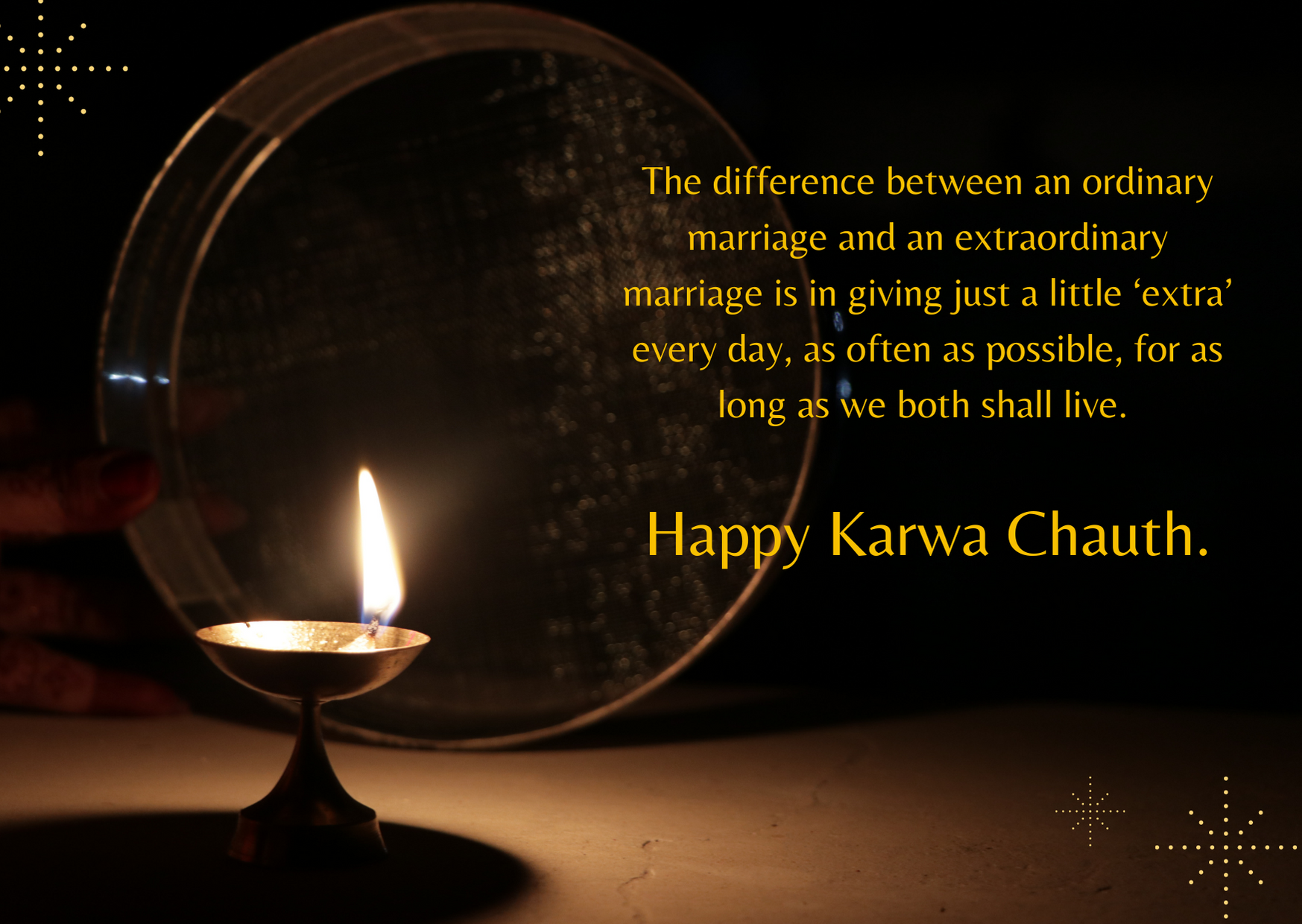 karwa chauth best wishes