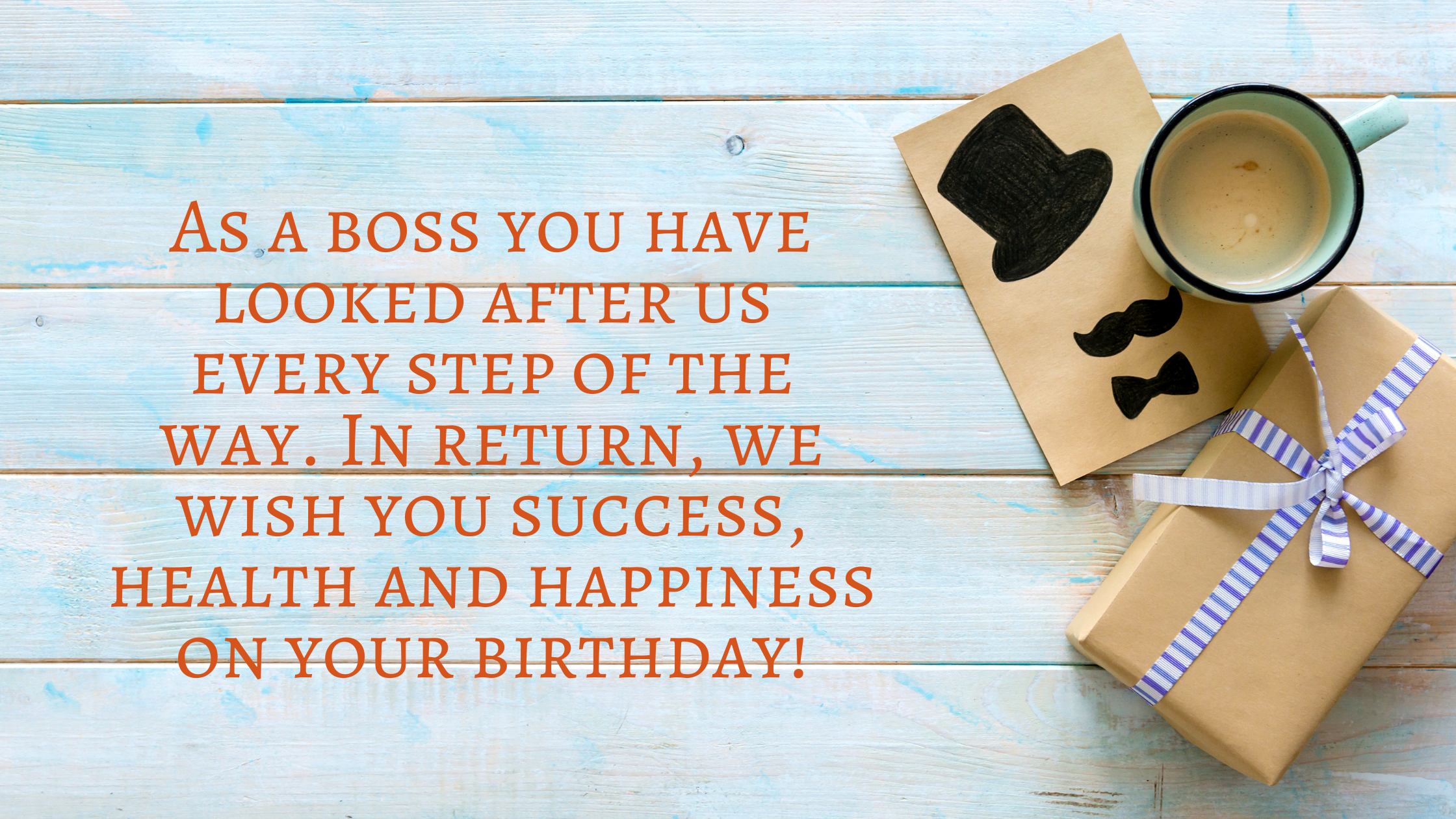 birthday wishes for boss in english
