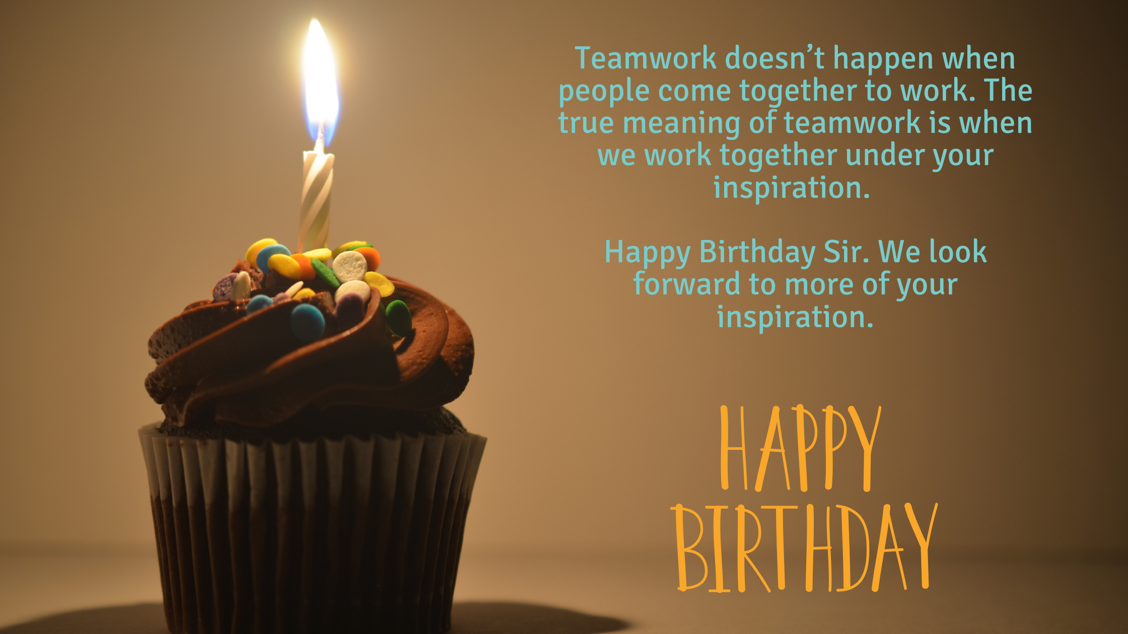 birthday wishes quotes for boss