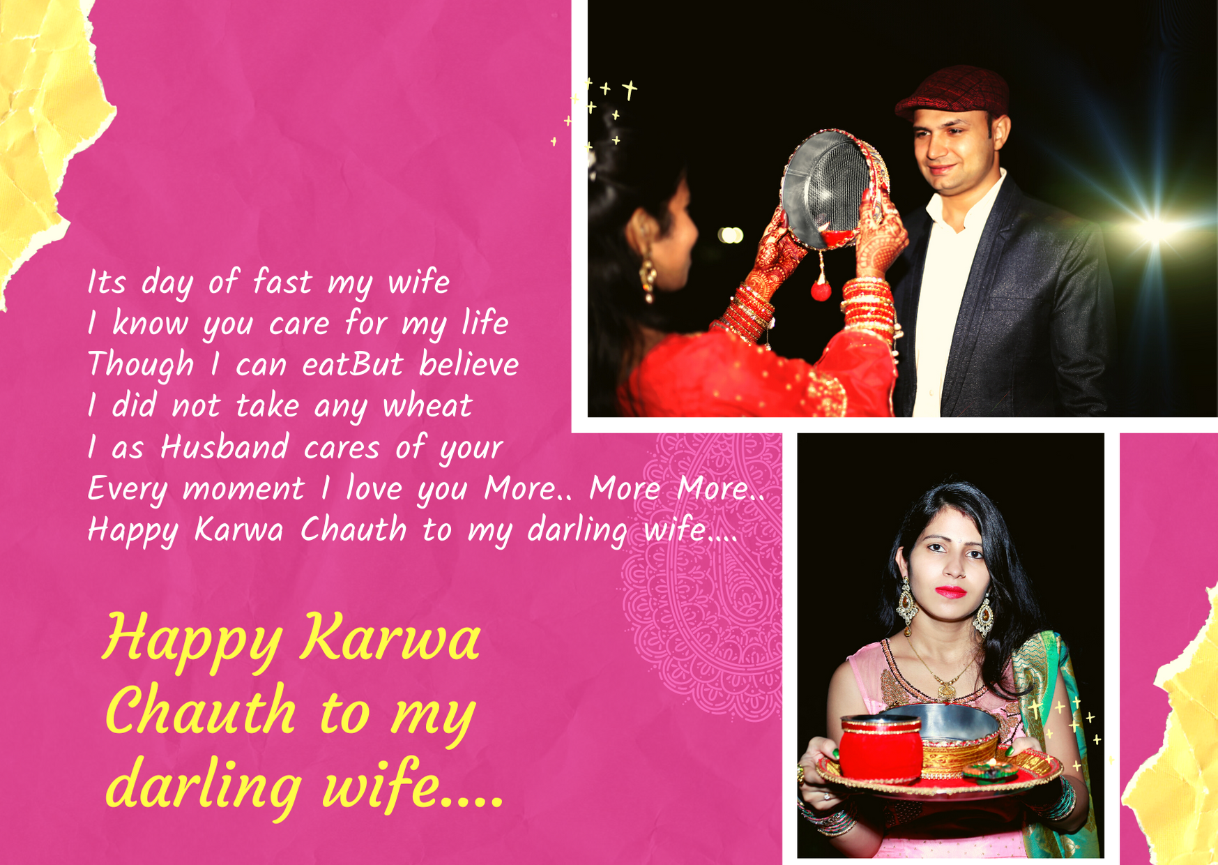 happy karva chauth my love
