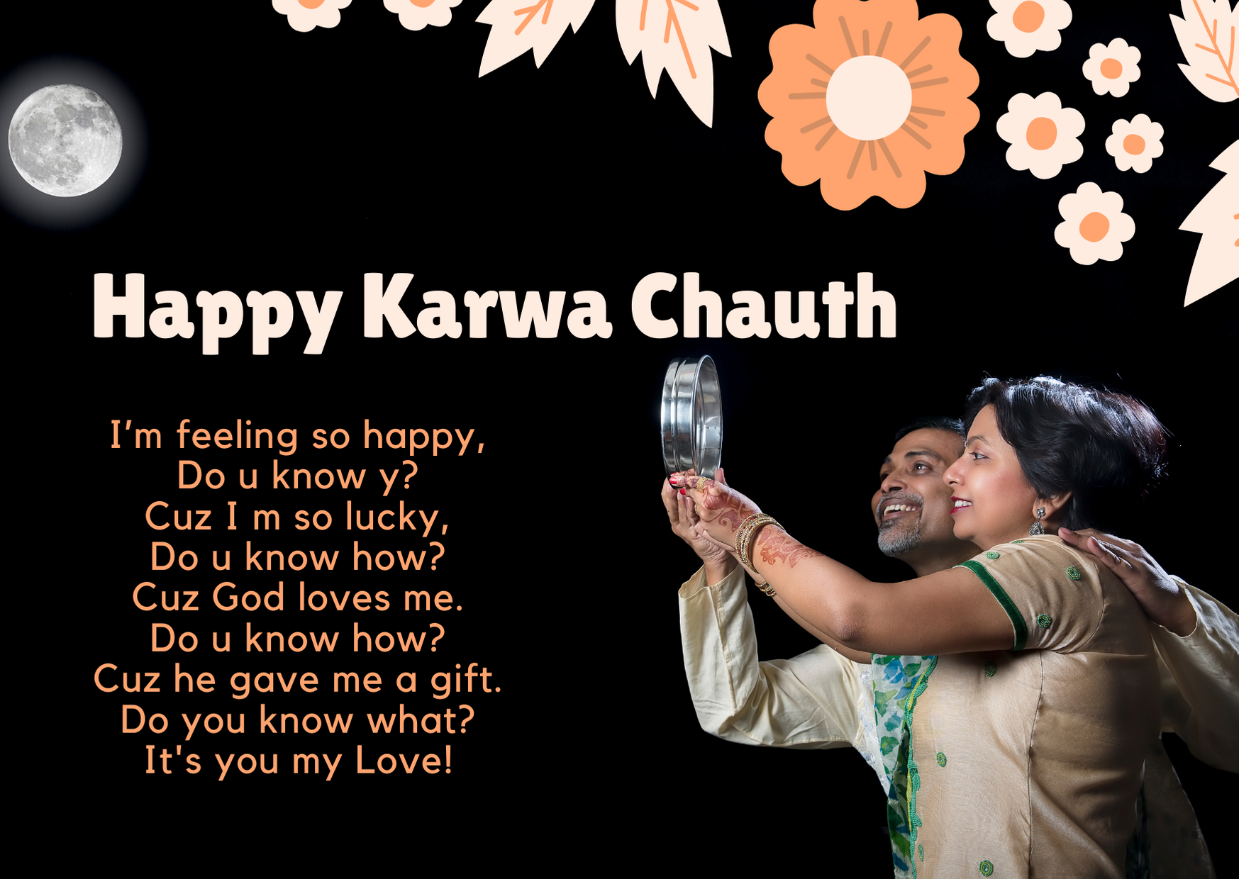 karva chauth msg for wife