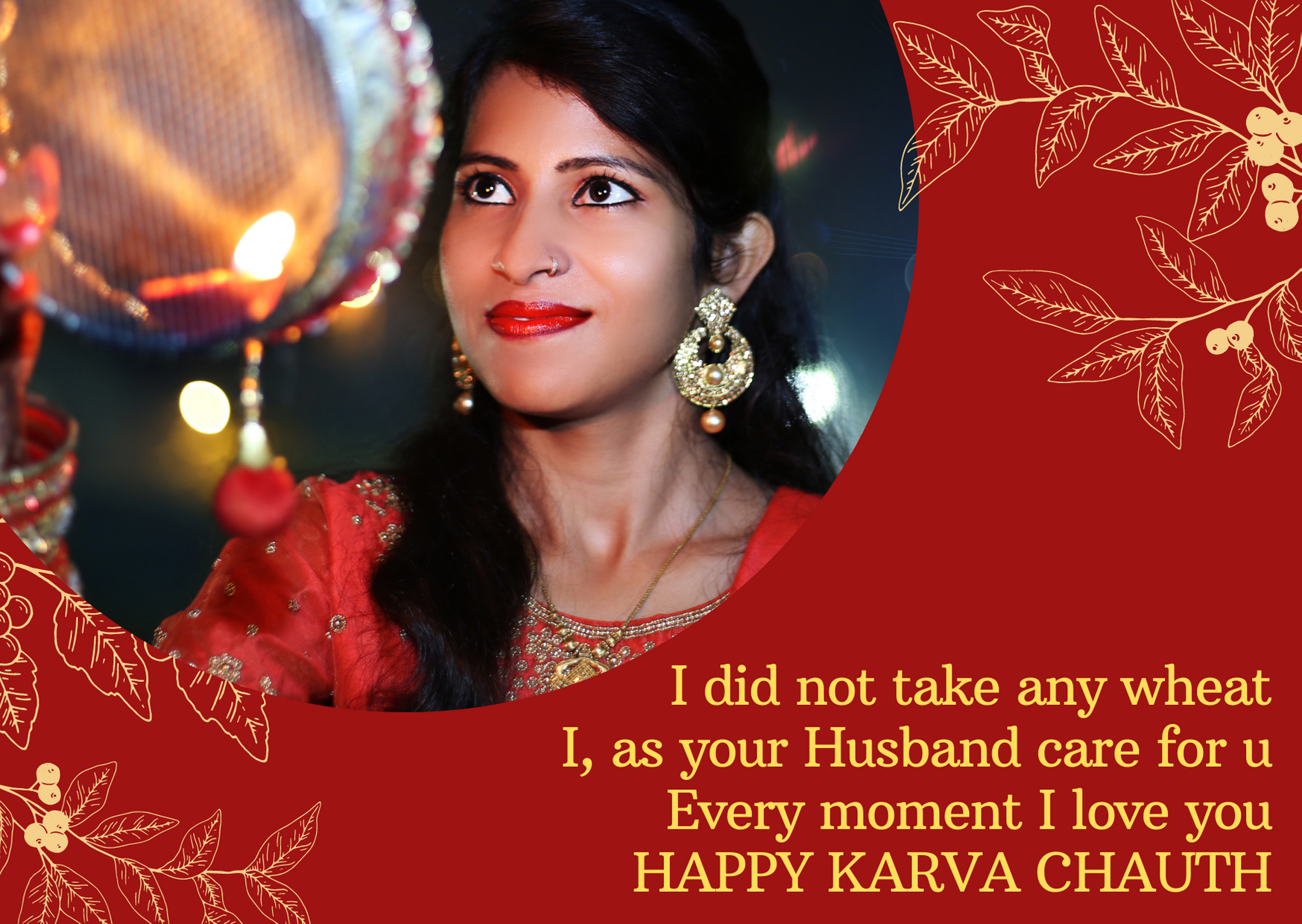 karwa chauth msg for wife