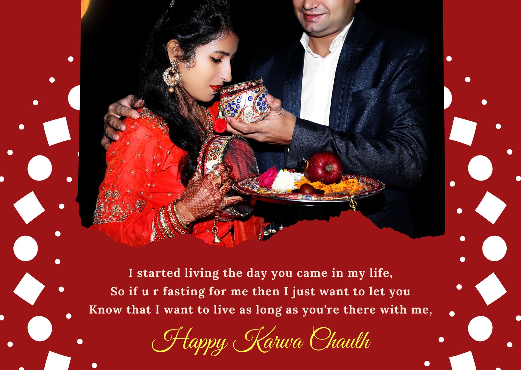 karwa chauth wishes for girlfriend