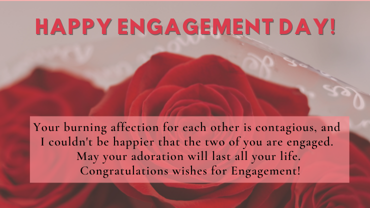 Funny engagement wishes