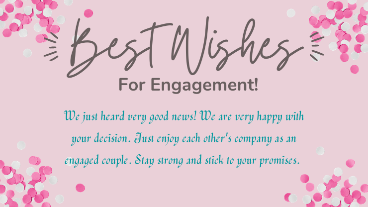 Happy engagement quotes