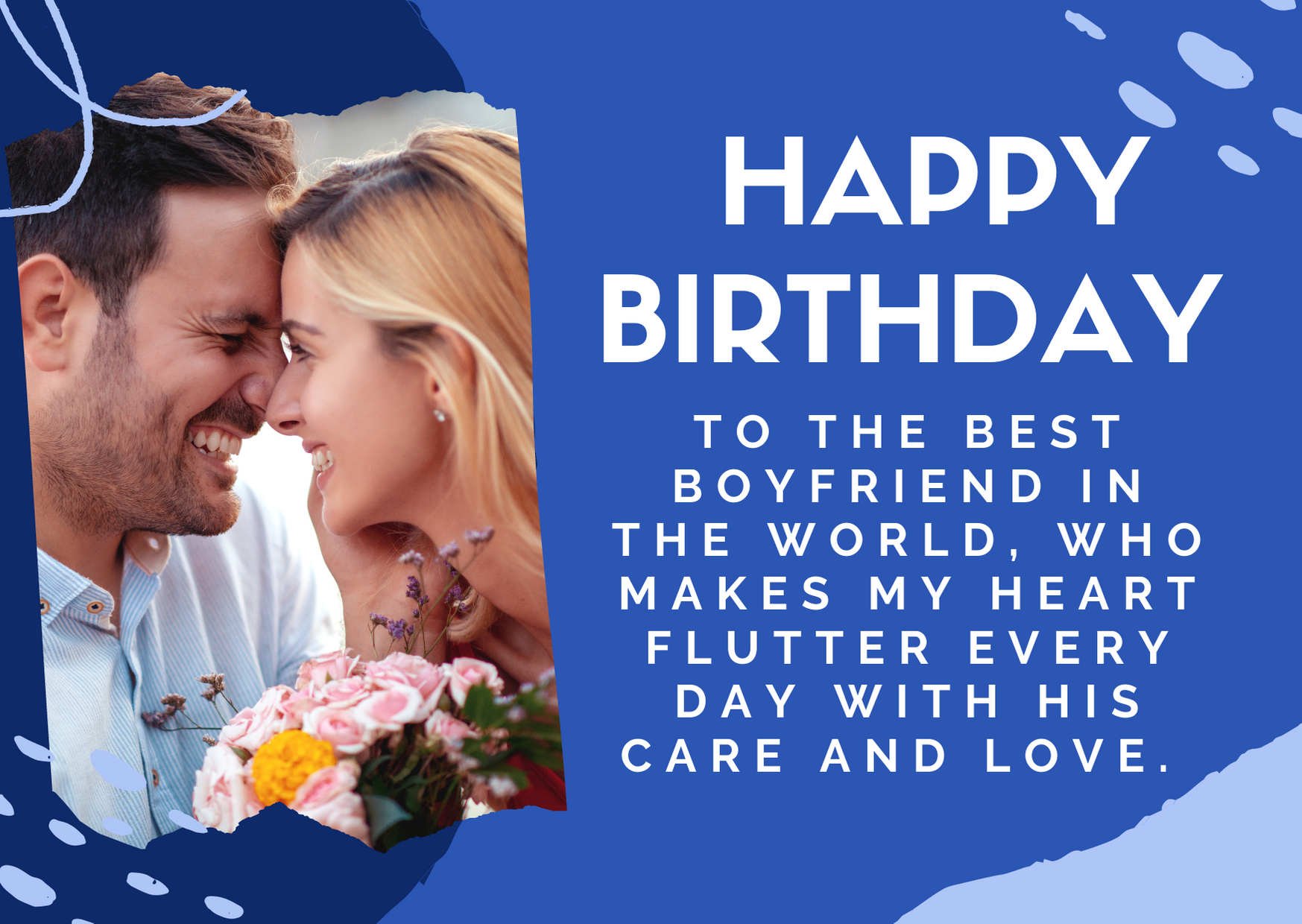 romantic birthday msg for boyfriend