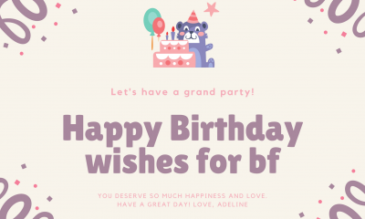 bday thought for bf