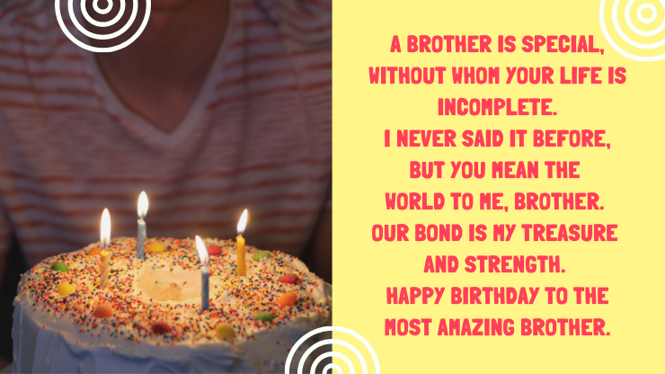 birthday wishes for brother 2021