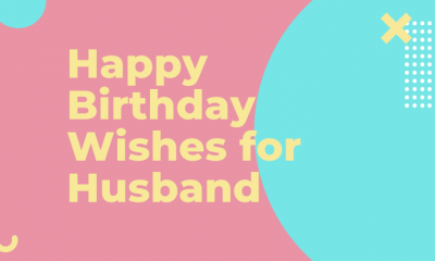 birthday wishes for husband message