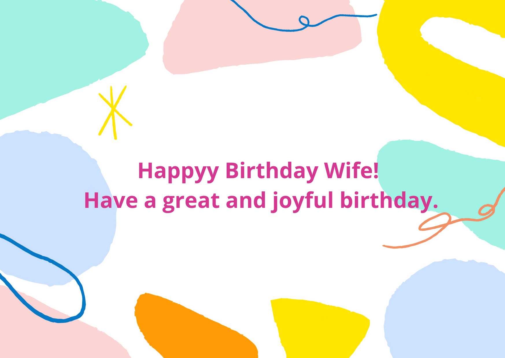birthday wishes for wife funny