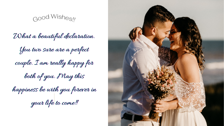 congratulation messages on engagement