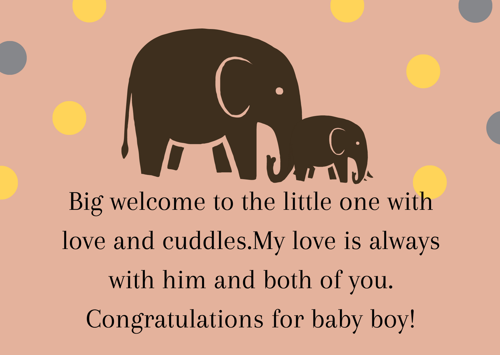 congratulations quotes for baby boy