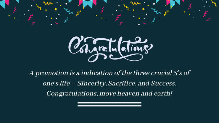 promotion wishes quotes
